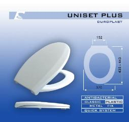 MKW Uniset Plus WC ülőke (1)